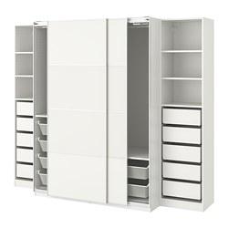 PAX - wardrobe, white/Mehamn | IKEA Hong Kong and Macau - PE730856_S3