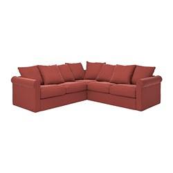 GRÖNLID - corner sofa, 4-seat, Ljungen light red   IKEA Hong Kong and Macau - PE785127_S3