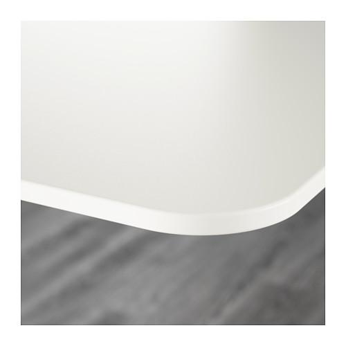 BEKANT - 升降式書檯, 160x80cm, 白色 | IKEA 香港及澳門 - PE573728_S4