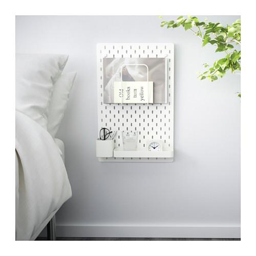 SKÅDIS - 洞洞板套裝, 白色 | IKEA 香港及澳門 - PE640409_S4