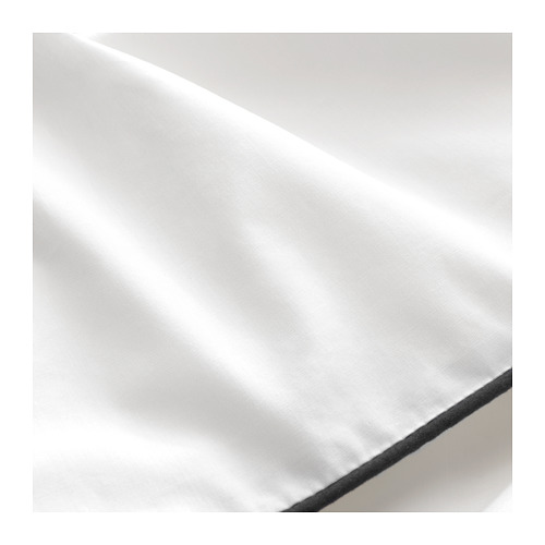 KUNGSBLOMMA Quilt cover and 2 pillowcases, single
