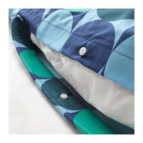 KROKUSLILJA 被套枕袋套裝, 240x220/50x80 cm