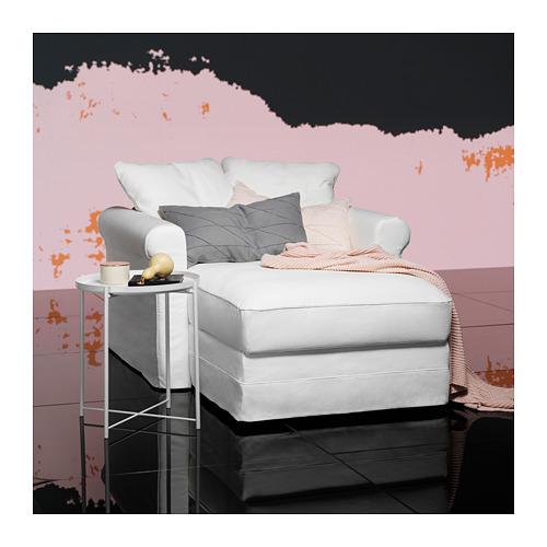 GRÖNLID - 躺椅, Inseros 白色   IKEA 香港及澳門 - PH153718_S4