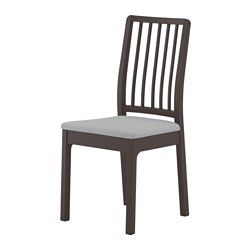 EKEDALEN - chair, dark brown/Orrsta light grey | IKEA Hong Kong and Macau - PE640439_S3