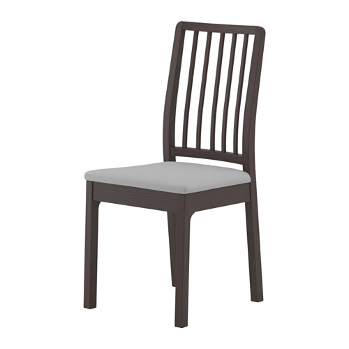 EKEDALEN - chair, dark brown/Orrsta light grey | IKEA Hong Kong and Macau - PE640439_S4
