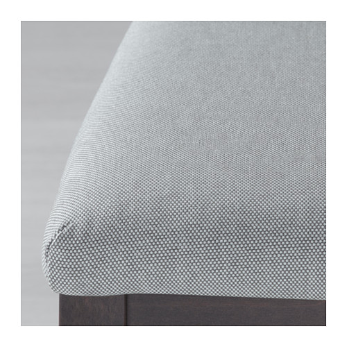 EKEDALEN - chair, dark brown/Orrsta light grey | IKEA Hong Kong and Macau - PE640441_S4