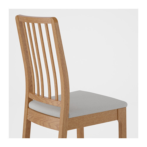 EKEDALEN - chair, oak/Orrsta light grey | IKEA Hong Kong and Macau - PE640448_S4