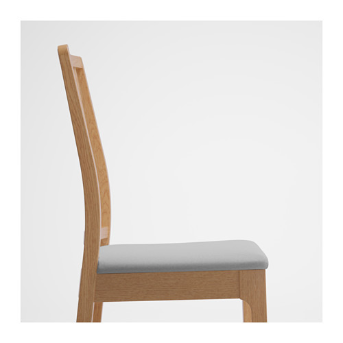 EKEDALEN - chair, oak/Orrsta light grey | IKEA Hong Kong and Macau - PE640447_S4