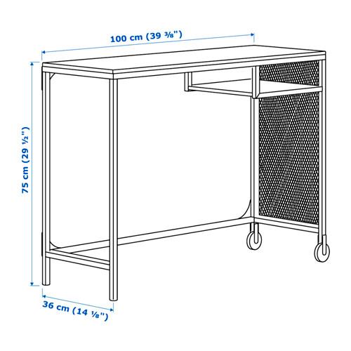 FJÄLLBO - laptop table, 100x36x75 cm, black | IKEA Hong Kong and Macau - PE640482_S4