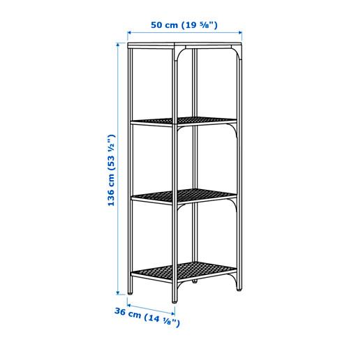 FJÄLLBO - shelving unit, black | IKEA Hong Kong and Macau - PE640490_S4