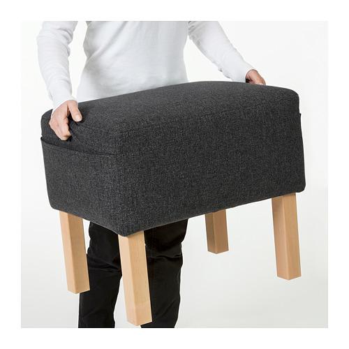 OMTÄNKSAM - 腳凳, Gunnared 深灰色 | IKEA 香港及澳門 - PE687752_S4