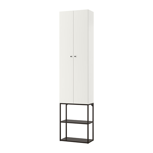 ENHET - 上牆式貯物架組合, anthracite/white   IKEA 香港及澳門 - PE773614_S4
