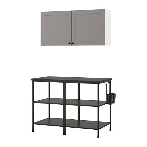 ENHET - 上牆式貯物架組合, anthracite/grey frame   IKEA 香港及澳門 - PE773574_S4