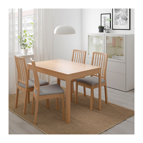 EKEDALEN - chair, oak/Orrsta light grey | IKEA Hong Kong and Macau - PE640523_S4