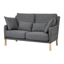 OMTÄNKSAM - 兩座位梳化, Gunnared 暗灰色 | IKEA 香港及澳門 - PE687781_S3