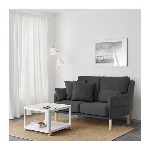 OMTÄNKSAM - 兩座位梳化, Gunnared 深灰色 | IKEA 香港及澳門 - PE687779_S4