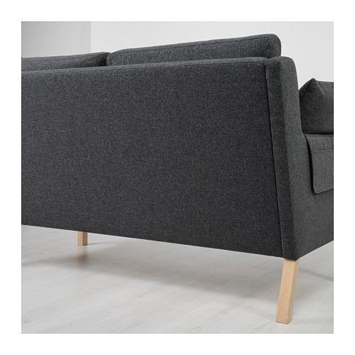 OMTÄNKSAM - 兩座位梳化, Gunnared 深灰色 | IKEA 香港及澳門 - PE687780_S4