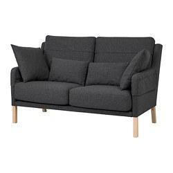 OMTÄNKSAM - 兩座位梳化, Gunnared 深灰色 | IKEA 香港及澳門 - PE687759_S3