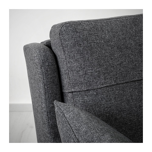OMTÄNKSAM - 兩座位梳化, Gunnared 深灰色 | IKEA 香港及澳門 - PE687783_S4