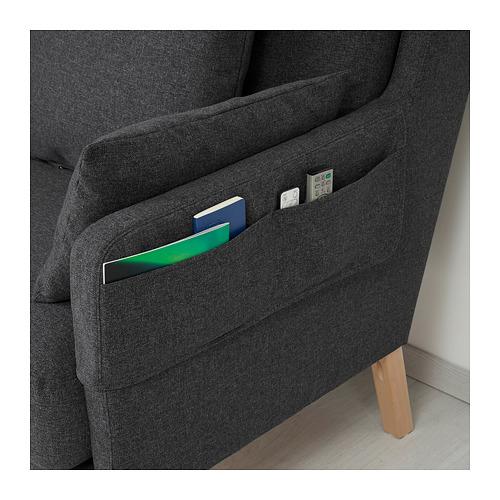 OMTÄNKSAM - 兩座位梳化, Gunnared 深灰色 | IKEA 香港及澳門 - PE687784_S4