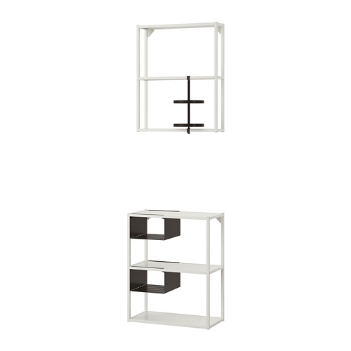 ENHET - 牆/地面貯物組合, 白色   IKEA 香港及澳門 - PE773626_S4
