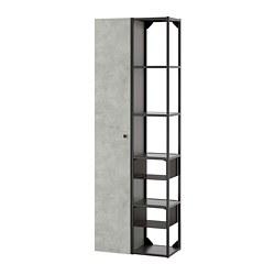ENHET - 上牆式貯物架組合, anthracite/concrete effect | IKEA 香港及澳門 - PE773578_S3