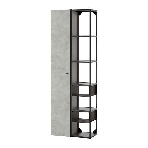 ENHET - 上牆式貯物架組合, anthracite/concrete effect   IKEA 香港及澳門 - PE773578_S4