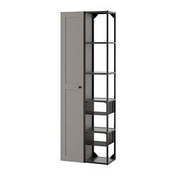ENHET - 上牆式貯物架組合, anthracite/grey frame | IKEA 香港及澳門 - PE773600_S3