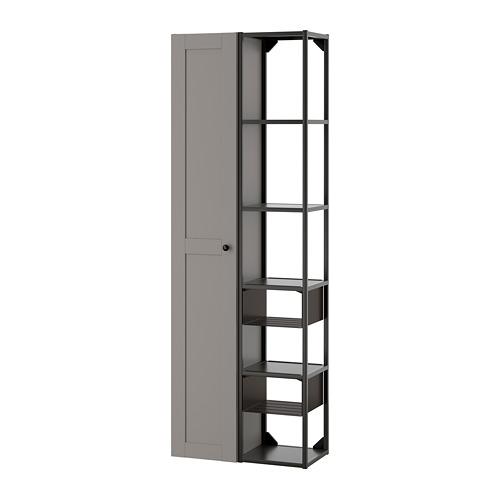 ENHET - wall storage combination, anthracite/grey frame | IKEA Hong Kong and Macau - PE773600_S4