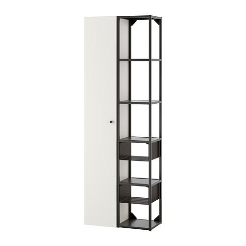 ENHET - 上牆式貯物架組合, anthracite/white | IKEA 香港及澳門 - PE773560_S4