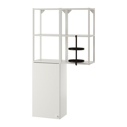 ENHET - 上牆式貯物架組合, 白色   IKEA 香港及澳門 - PE773663_S4