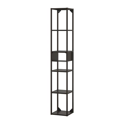 ENHET - 上牆式貯物架組合, 炭黑色 | IKEA 香港及澳門 - PE773586_S4
