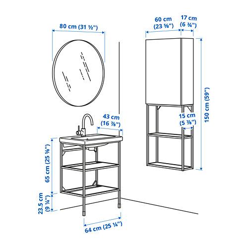 TVÄLLEN/ENHET - 浴室貯物組合 13件裝, red-orange/white Glypen tap   IKEA 香港及澳門 - PE785382_S4