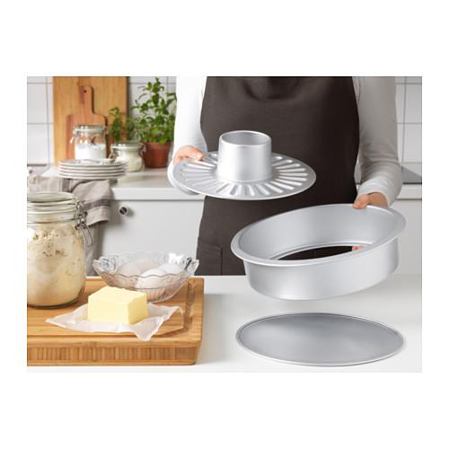 VARDAGEN - 活圓蛋糕模, 銀色 | IKEA 香港及澳門 - PE575027_S4