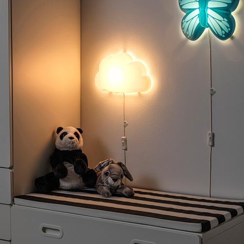 UPPLYST - LED壁燈, 雲形 白色   IKEA 香港及澳門 - PE731047_S4