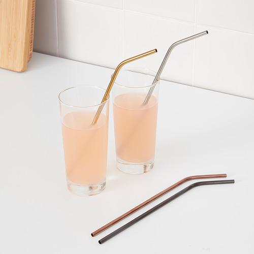 UPPSLUKAD drinking straws/cleaning brush