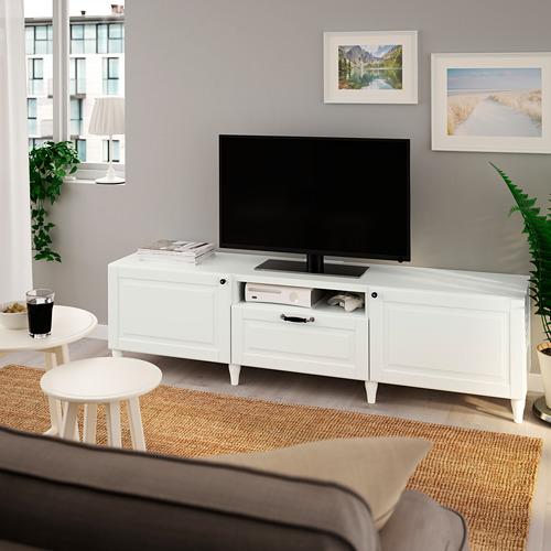 BESTÅ - 電視几, 白色/Smeviken/Kabbarp 白色   IKEA 香港及澳門 - PE785496_S4
