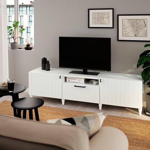 BESTÅ - 電視几, 白色/Sutterviken/Kabbarp 白色 | IKEA 香港及澳門 - PE785498_S4