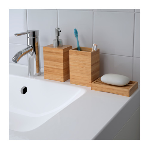 DRAGAN - toothbrush holder, bamboo | IKEA Hong Kong and Macau - PE516775_S4