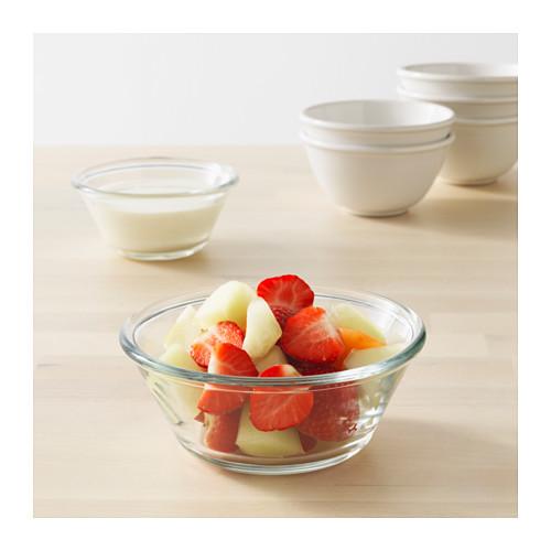 VARDAGEN - bowl, clear glass, 15cm | IKEA Hong Kong and Macau - PE584367_S4