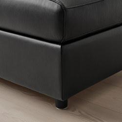 VIMLE - footstool with storage, Grann/Bomstad black | IKEA Hong Kong and Macau - PE773783_S3