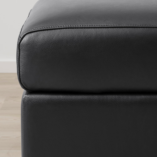 VIMLE - footstool with storage, Grann/Bomstad black | IKEA Hong Kong and Macau - PE773784_S4