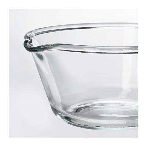 VARDAGEN - bowl, clear glass, 26cm | IKEA Hong Kong and Macau - PE588012_S4