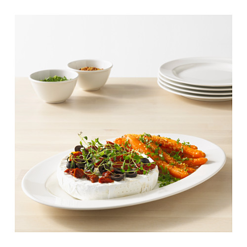 VARDAGEN - serving plate, off-white, 35x23 cm   IKEA Hong Kong and Macau - PE584359_S4