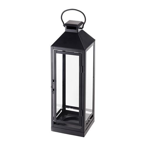 LAGRAD 柱形蠟燭燈座,室內/戶外用