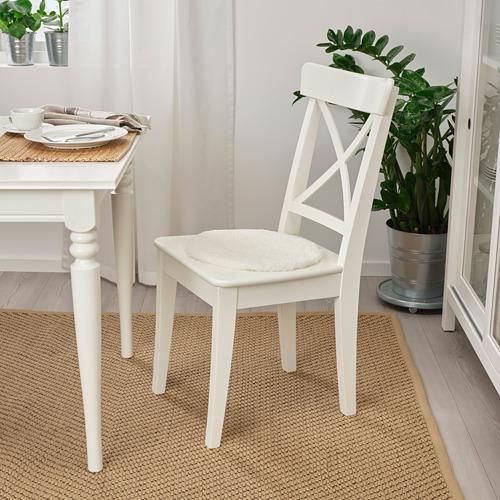 STEIVOR 羊皮椅墊. 灰白色