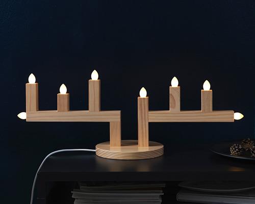 STRÅLA LED八頭燭台