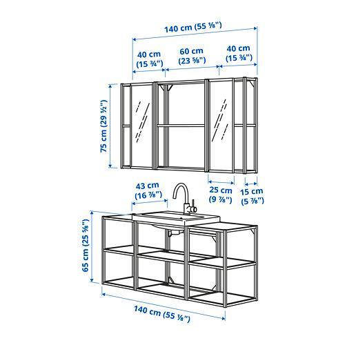 TVÄLLEN/ENHET - 浴室貯物組合 17件裝, white/Glypen tap   IKEA 香港及澳門 - PE785715_S4