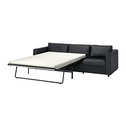VIMLE - 三座位梳化床, Grann/Bomstad 黑色 | IKEA 香港及澳門 - PE773982_S3