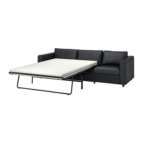 VIMLE - 3-seat sofa-bed, Grann/Bomstad black | IKEA Hong Kong and Macau - PE773982_S4